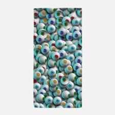 Eyeballs In Many Colors Beach Towel