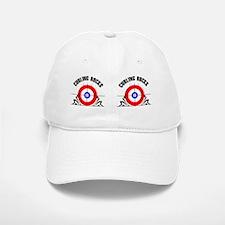 Curling Mug Baseball Baseball Cap