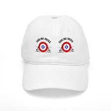 Curling Mug Baseball Cap