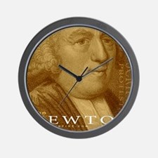 Mousepad_Head_Newton Wall Clock