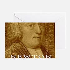 Mousepad_Head_Newton Greeting Card