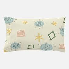 Atomic Age Art Pillow Case
