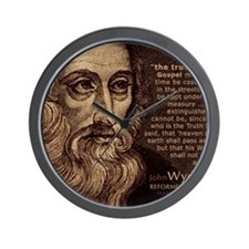 Mousepad_HeadQuote_Wycliffe Wall Clock