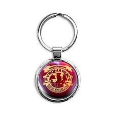 big_palle Round Keychain