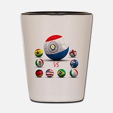 ParaguayVsWorld Shot Glass
