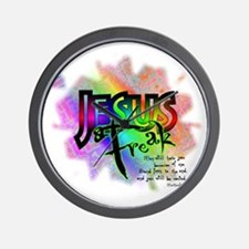 JESUSfreak04 Wall Clock