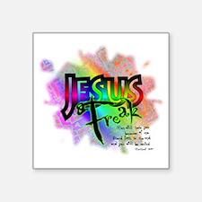 "JESUSfreak04 Square Sticker 3"" x 3"""