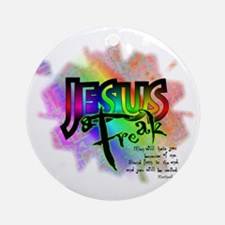 JESUSfreak04 Round Ornament