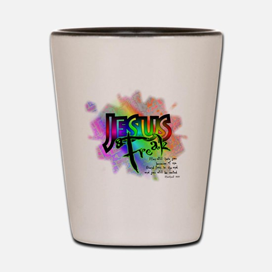 JESUSfreak04 Shot Glass