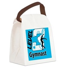 Level_3_Gymnast_Ver1_Blue_button Canvas Lunch Bag