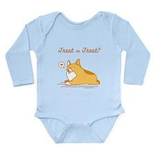 Treat Or Treat - Baby Long Sleeve Bodysuit