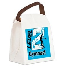 Level_2_Gymnast_Ver1_Blue_button Canvas Lunch Bag