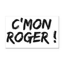 common Roger Federer Rectangle Car Magnet