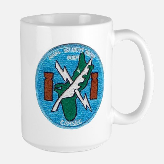 NAVAL SECURITY GROUP, COMSEC, GUAM Mugs
