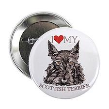 Scottish Terrier Love My Button