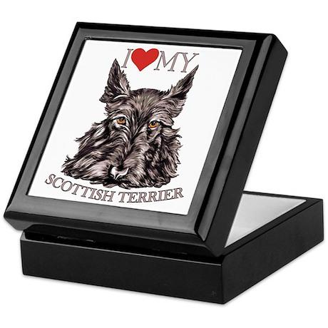 Scottish Terrier Love My Keepsake Box