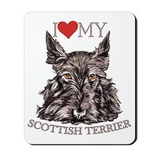 Scottish Terrier Love My Mousepad