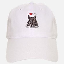Scottish Terrier Love My Baseball Baseball Cap