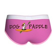 dog paddle for large bowl Larry  Women's Boy Brief