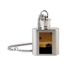 MackTowerOrange Flask Necklace