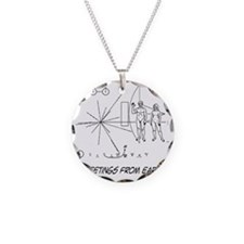 earthgreeting01 Necklace Circle Charm
