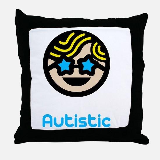 Unique -dk Throw Pillow