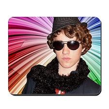Craig w/ Rainbow Mousepad