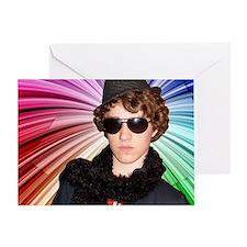 Craig w/ Rainbow Greeting Card