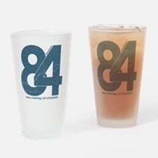 nineteen84Faded Drinking Glass