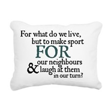 makesport_2 copy Rectangular Canvas Pillow