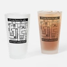 Dungeon Crawl Tee Drinking Glass