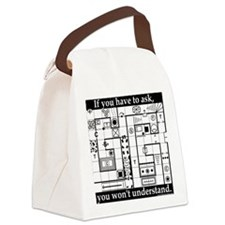 Dungeon Crawl Tee Canvas Lunch Bag