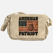 american patriot Messenger Bag