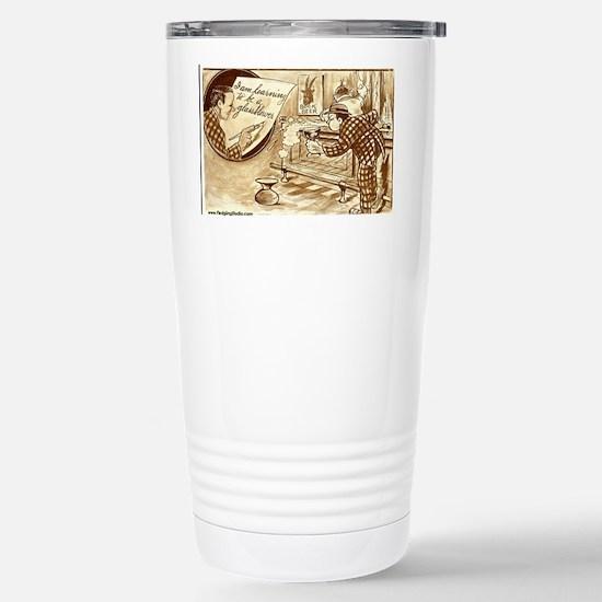 glassblower_beer Stainless Steel Travel Mug