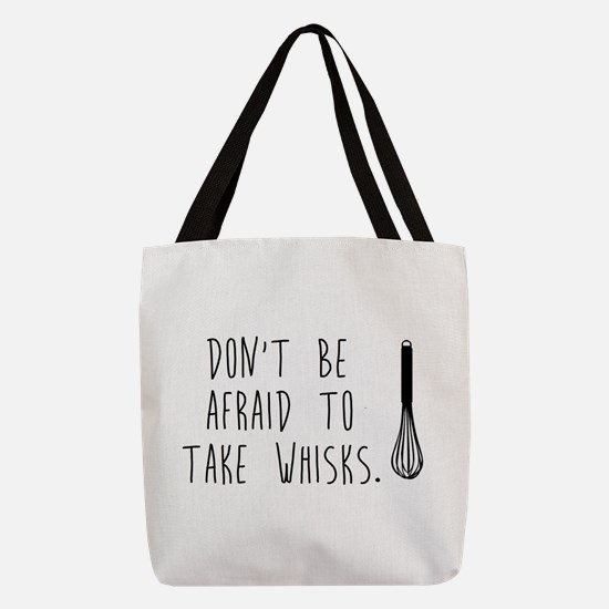 Take Wisks Polyester Tote Bag
