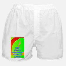 KEEP CAPITAL PUNISHMENT(large poster) Boxer Shorts