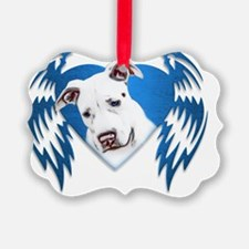 Tribal Heart Bully Ornament