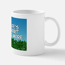 Wag More Rectangle Mug