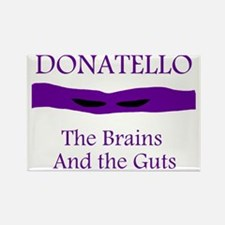 Donatello front Rectangle Magnet