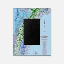 7002 Eastern Shore Map Picture Frame