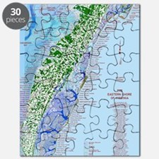 7002 Eastern Shore Map Puzzle