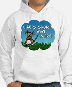 Wag More Square Hoodie