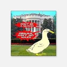"""obamanonazi Square Sticker 3"""" x 3"""""""