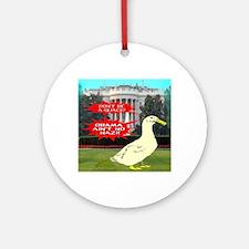 obamanonazi Round Ornament
