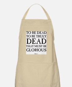 To be dead in black Apron
