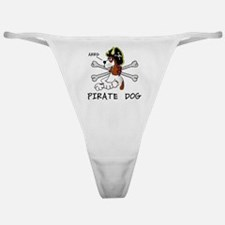 pirate dog Classic Thong