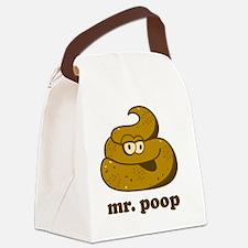 mrpoop Canvas Lunch Bag