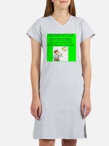 momentum investing Women's Nightshirt