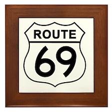 Route69 Framed Tile