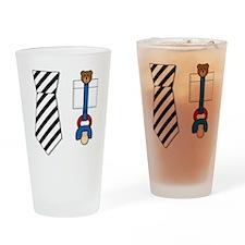 baby_tie_shirt Drinking Glass